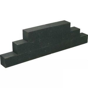 Linea-Palissaden-Strak-15x15x45-Zwart
