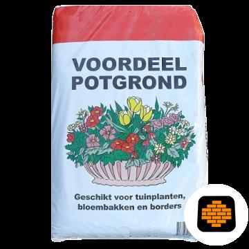 Zak-Potgrond-30-liter-direct-tuinshop.nl