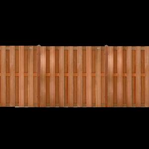 Hardhouten schutting