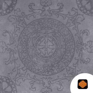 GeoCeramica-60x60x4-Symbol-Circle-Black--directtuinshop