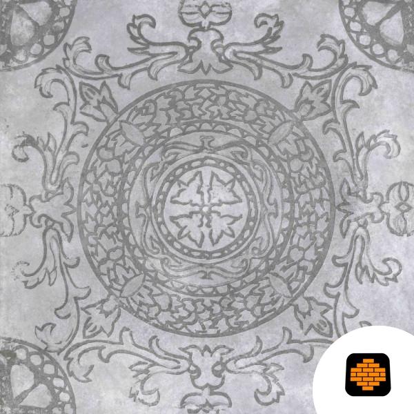 GeoCeramica-60x60x4-Symbol-Circle-Smoke-directtuinshop