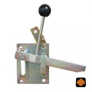Tuinheksluiting-Verzinkt-100x80-mm-Knop-Geel-directtuinshop