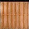 Hardhouten scherm 180x180 cm