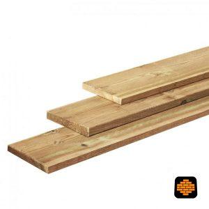 Grenen-plank-geimpregneerd-Fijnbezaagde-Ruw-plank-2-x-20-directtuinshop-zaanstreek
